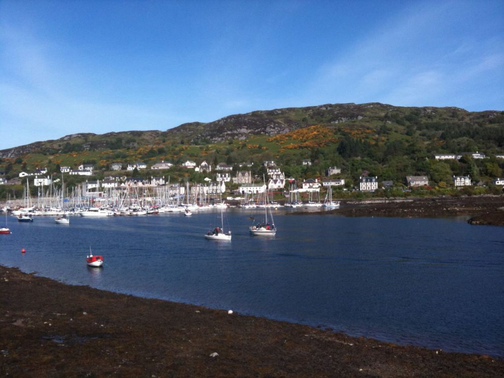Scenic view of Tarbert
